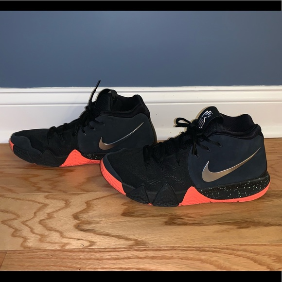 new products 88f76 0172b Black Nike Kyrie 4 Size 10